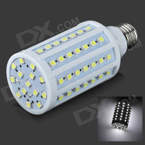 E27 13W 1200LM 7000K 86x5050 LED White Light Bulb (110V) zweihnder e27 15w 1200lm 86 smd 5050 led white light bulb 220 240v