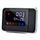 3.6&quot; LCD Color Screen Weather Station Projection Clock (3 x AAA)