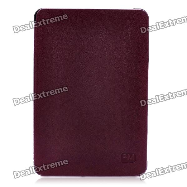 Protective PU Leather Case with Stand Holder for Samsung P6800 Galaxy Tab 7.7 - Brown