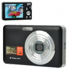 5.0MP Digital Camera w/ 8X Digital Zoom / SD / AV-Out - Black (2.7