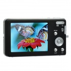 "5.0MP Digital Camera w/ 8X Digital Zoom / SD / AV-Out - Black (2.7"" LCD)"