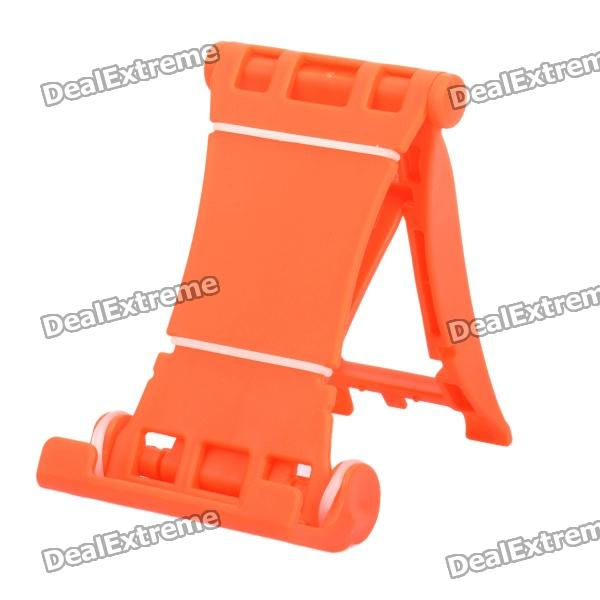 Engineering Plastic Holder Stand for Cell Phone / Tablet PC + More - Orange engineering plastic holder stand for cell phone tablet pc more black