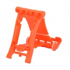 Engineering Plastic Holder Stand for Cell Phone / Tablet PC + More - Orange