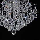 Elegant 3-light Chrome Crystal Chandelier (220~240V)
