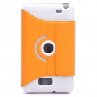 Protective 360-Degree Rotation Holder Plastic Case for Samsung Galaxy Note i9220 - Orange