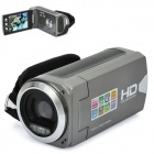 "3.0MP CMOS Digital Video Recorder Camcorder w/ SD / AV-Out - Grey (2.7"" LCD / 3 x AAA)"