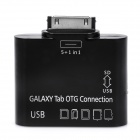Connection Kit w/ USB / SD / TF for Samsung Galaxy Tab P7500 / P7510 / P7300 / P7310 - Black