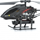 Iphone / Android Controlled Rechargeable 3.5-CH R/C Helicopter w/ 300KP Camera - Black (TF Slot)