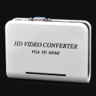 VGA to HDMI HD Video Converter - White