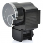 Automatic Plastic Fish Feeder - Black (2 x AA)