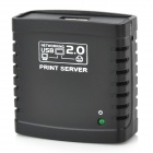Network USB 2.0 Printer Server - Black