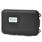 Waterproof & Shockproof Hard Silicone Tool Storage Box - Black