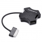 4-Port USB 2.0 Hub Connection Kit for Samsung Galaxy Tab P7300 / P7310 / P7500 / P7510 - Black