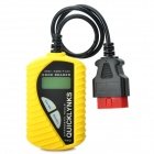 Digital EOBD OBDII CAN Bus Scanner Code Reader - Yellow