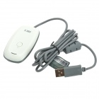 PC Wireless Gaming Receiver pour XBOX 360 Controller - blanc + gris
