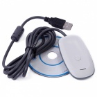 PC Wireless Gaming Receiver for XBOX 360 Controller - White + Grey