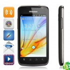 "Hisense HS-U8 Android 2.3 WCDMA Smart Phone w/4.0"" Capacitive Screen,Dual SIM, Wi-Fi and GPS - Black"
