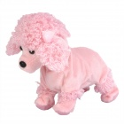 Electric 8-Mode Barking Moving Plush Dog Toy - Poodle (4 x AA)