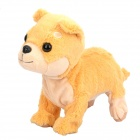 Electric 8-Mode Barking Moving Plush Dog Toy - Golden Retriever (4 x AA)
