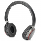 SNIKE XC-008 MP3 Player Stereo Headphones Headset w/ FM / TF Slot - Black