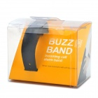 Bluetooth V2.0 Incoming Call Vibrate Alert Alarm Anti-lost Band Bracelet - Black (90-Hour Standby)