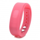 Bluetooth V2.0 Incoming Call Vibrate Alert Alarm Anti-lost Band Bracelet - Pink (90-Hour Standby)