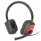 SNIKE XU-170 Virtual 7.1 Surround USB Gaming Headset w/ Microphone - Black