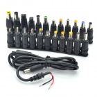 Replacement Power Cable with 11+12 Adapters for Laptop Notebook