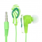 3.5 mm In-ear Slipper Style Stereo Earphone - Green