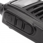 "LT-5800 Handheld 4W UHF 400-470MHz 128-CH Walkie Talkie - Black (1.4"" LCD)"