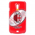 Protective Football/Soccer Club Back Cover Case for Samsung Nexus i9250 - A.C. Milan