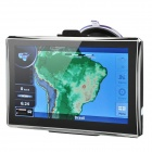 "7"" WinCE6.0 TFT Touch FM/MP3 MP4 TV Player GPS Navigator + Built-in 4GB Brazil Maps"