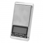 "1.8"" LCD Portable Jewelry Digital Pocket Scale - 500g/0.1g (2 x AAA)"