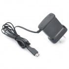 2-flat-pin Plug Power Charger for Samsung i9100 - Black (AC 100-240V)