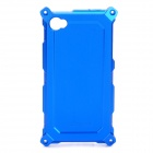 Protective Aluminum Alloy Housing Case for iPhone 4 / 4S - Blue
