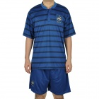 Jersey Shirt & Shorts Set for France Team - Blue + Black (Size XL)