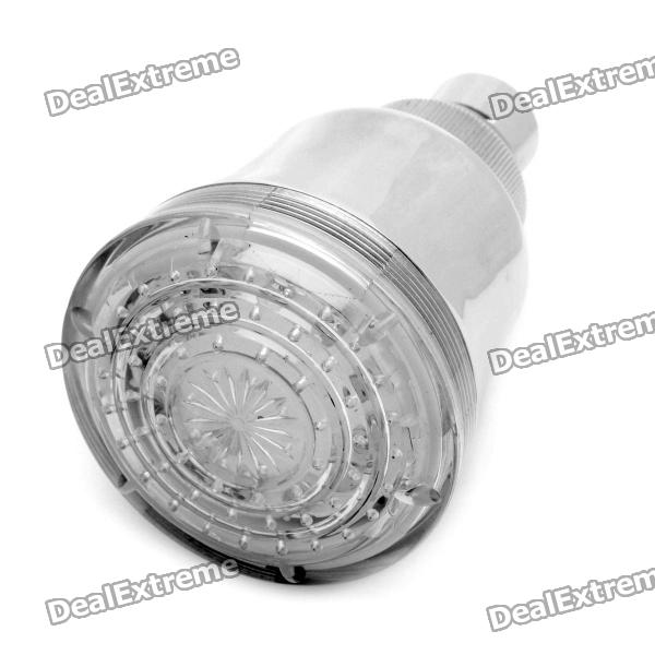 12-LED Water Temperature Visualizer Sensor Round Shower Head