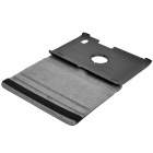 Protective 360 Degree Rotation Holder Leather Case for Acer Iconia Tab A500 - Black