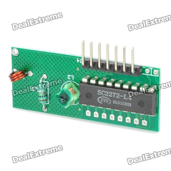 Superregenerative Receiver Board Module 3d42738i tv remote receiver receives board juc7 820 00047872 used disassemble