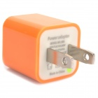 USB Power Adapter/Charger - Orange (US Plug / 100~240V)