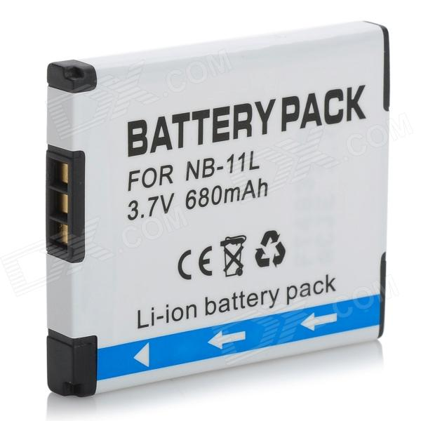 Replacement NB-11L 680mAh 3.7V Battery Pack for Canon PowerShot ELPH110 + More bp 208 compatible 850mah battery pack for canon mvx1sidc10 dc20 more