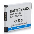 Replacement NB-11L 680mAh 3.7V Battery Pack for Canon PowerShot ELPH110 + More