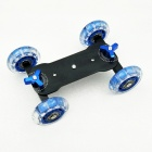 Camera Tabletop Dolly Skater / SJ4000 - Black + Blue