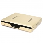 Embedded Linux 8-Channel H.264 Network Digital Video Recorder w/ Remote Controller - Champagne