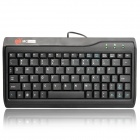 Genuine MC-SAITE Wired Mini Slim 78-Key Keyboard - Black