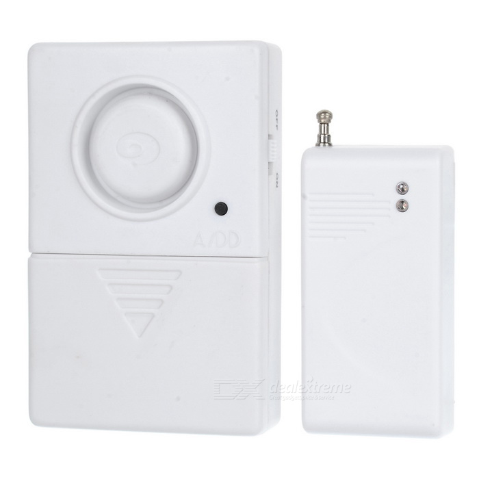 Wireless Door Magnetic Sensor Anti-Theft Security Alarm Set w/ Remote Controller