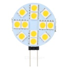 G4 1.4W 3200K 18LM 12x5050 SMD LED Car Warm White Light Lamp (12V)
