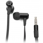 Genuine AWEI In-Ear Earphone w/ Microphone for Iphone 3gs / 4 / 4S / Ipad - Black