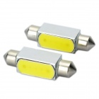 SV85 2W 150lM 6000K LED Car White Light Bulbs (DC 12V / Pair)