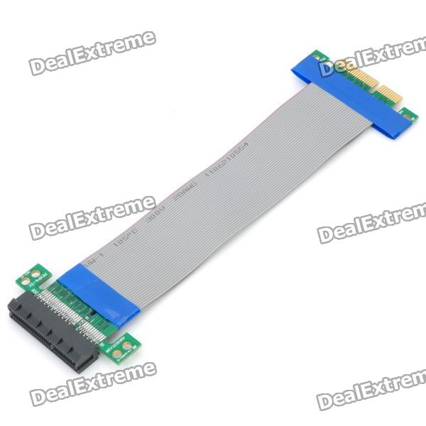 PCI-E 4X Male to Female Extension Flexible Cable (19cm)